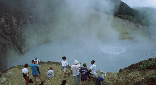 The Boiling Lake In Dominica - adventure holidays