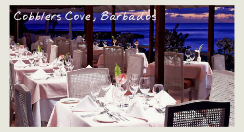 Terrace Restaurant At Cobblers Cove, Barbados - food and wine holidays