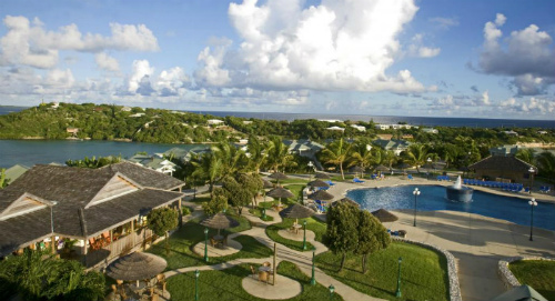 Fantastic View Over The Verandah, Antigua - family holidays