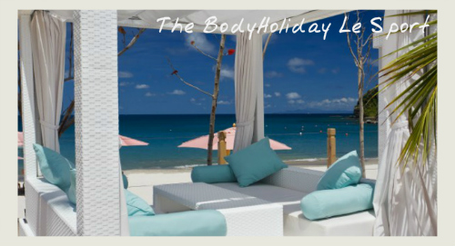 cabanas, fitness programmes at The BodyHoliday Le Sport