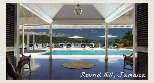 Round Hill Jamaica, Caribbean small villa