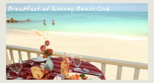 Breakfast at the Siboney Beach Club, boutique hotels in Antigua