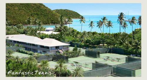 caribbean tennis holidays, carlisle bay courts