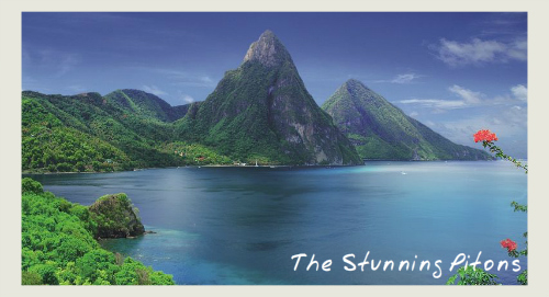 Piton view - Saint Lucia Holiday Sale
