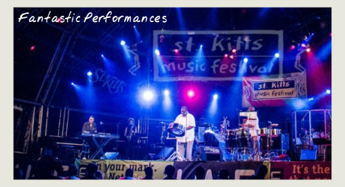 stage at st kitts music festival