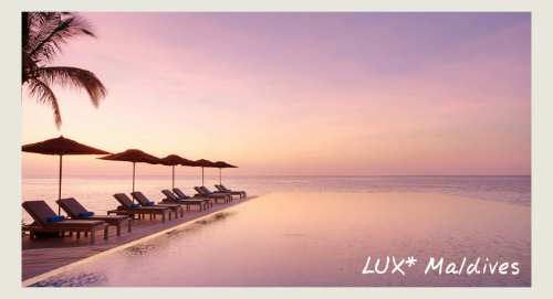 LUX* Maldives - winter sun holidays in the Maldives