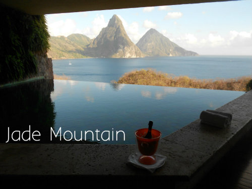 Jade Mountain Suite View