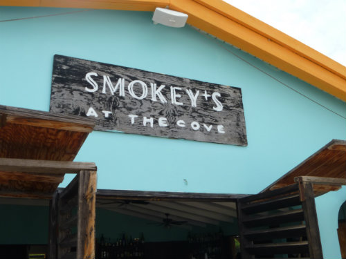 Smokeys at the Cove outside