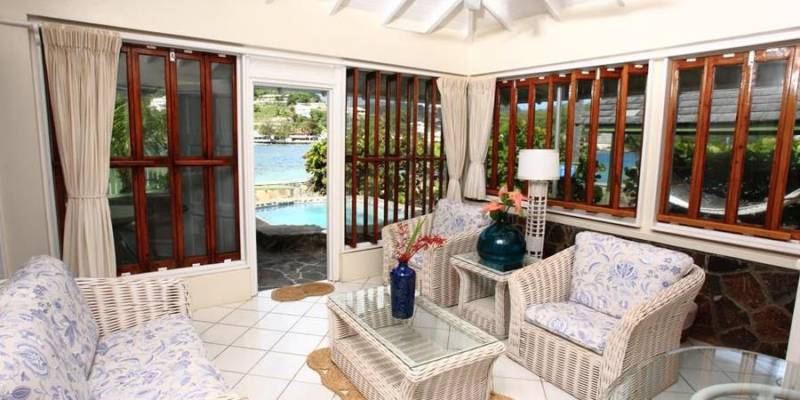 suite, Young Island Resort, St Vincent