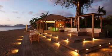 Beach bar, Paradise Beach Club, Nevis -  1