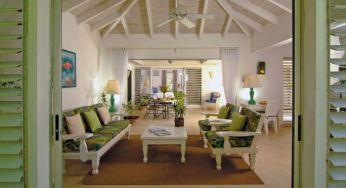 A bungalow interior at Settlers Beach, Barbados