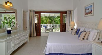 A master bedroom at Settlers Beach, Barbados
