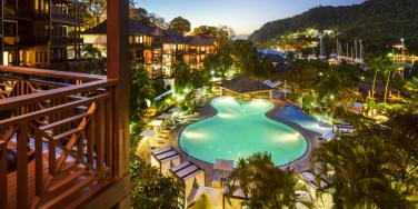 Marigot Bay Resort and Marina, St Lucia