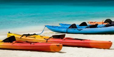 Kayaking at Malliouhana