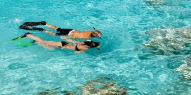 Snorkelling at Malliouhana