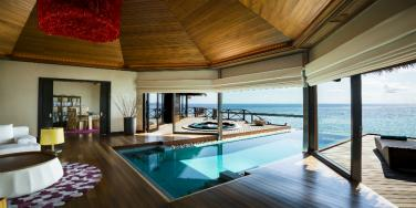 Ocean Pavilion with Private Pool Living Area