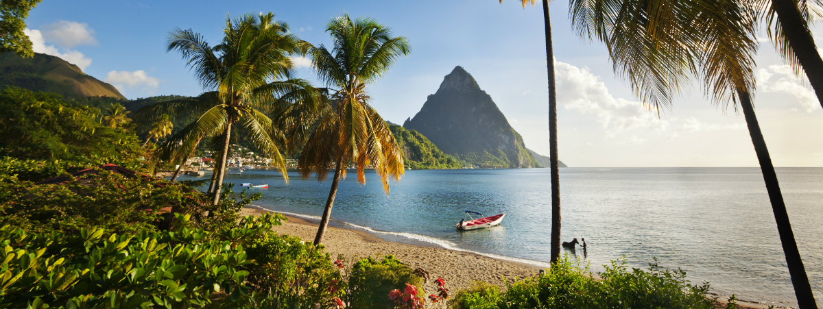 Location St Lucia In Caribbean: St Lucia Holidays In 2019-2020 By Tropic Breeze
